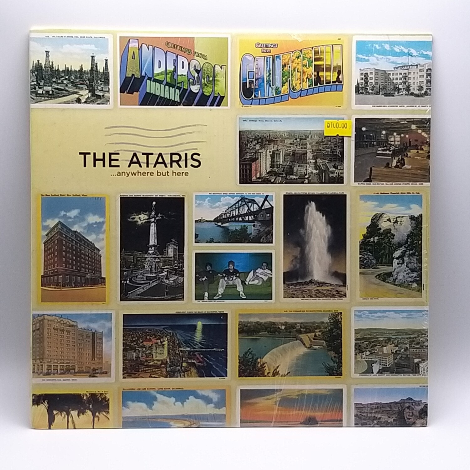 THE ATARIS -...ANYWHERE BUT HERE- LP