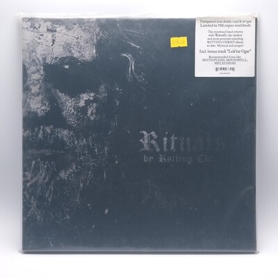 ROTTING CHRIST -RITUALS- 2XLP (CLEAR VINYL)