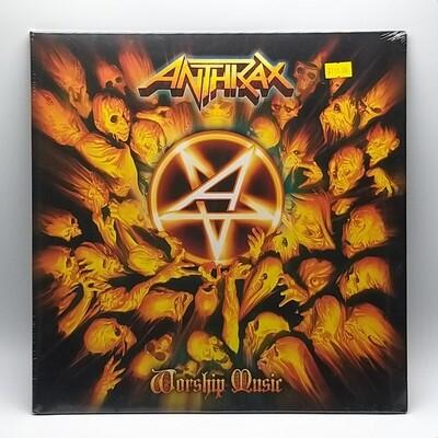 ANTHRAX -WORKSHIP MUSIC- LP (GREEN VINYL)