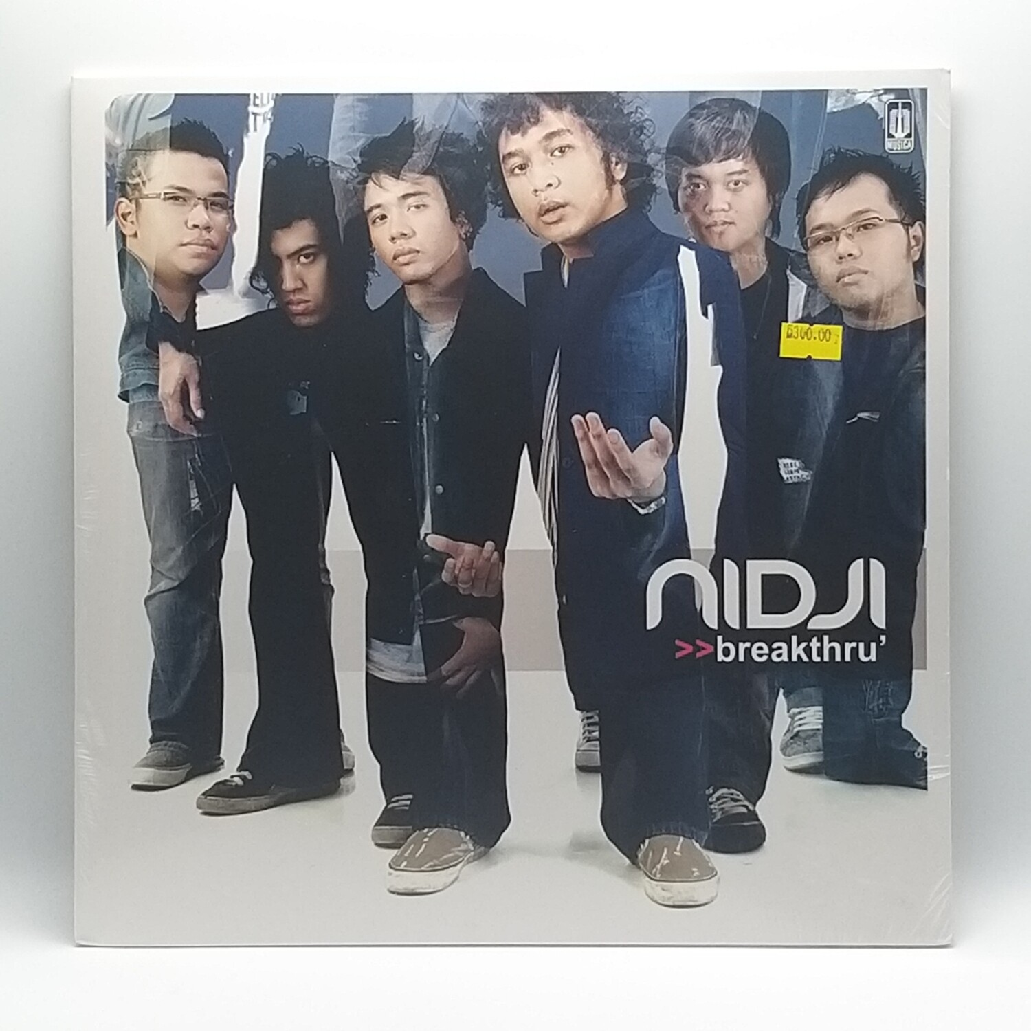 NIDJI -BREAKTHRU- LP