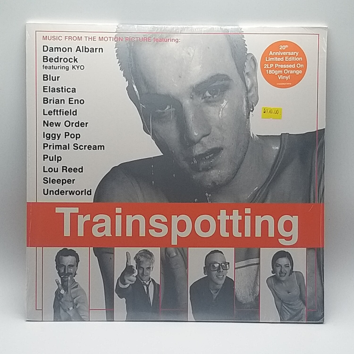 OST -TRAINSPOTTING- 2XLP (ORANGE VINYL)