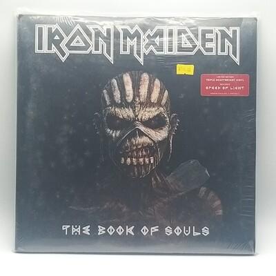 IRON MAIDEN -THE BOOK OF SOULS- 3XLP (180 GRAM VINYL)