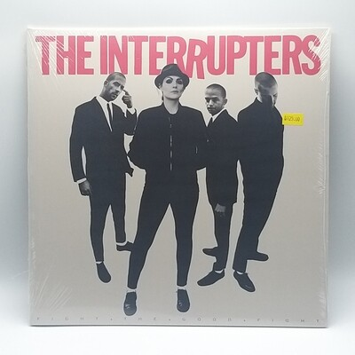 THE INTERRUPTERS -FIGHT.THE GOOD.FIGHT- LP