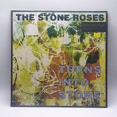 THE STONE ROSES -TURNS INTO STONE- LP (180 GRAM VINYL)