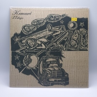KEMURI -77 DAYS- LP (CLEAR VINYL)