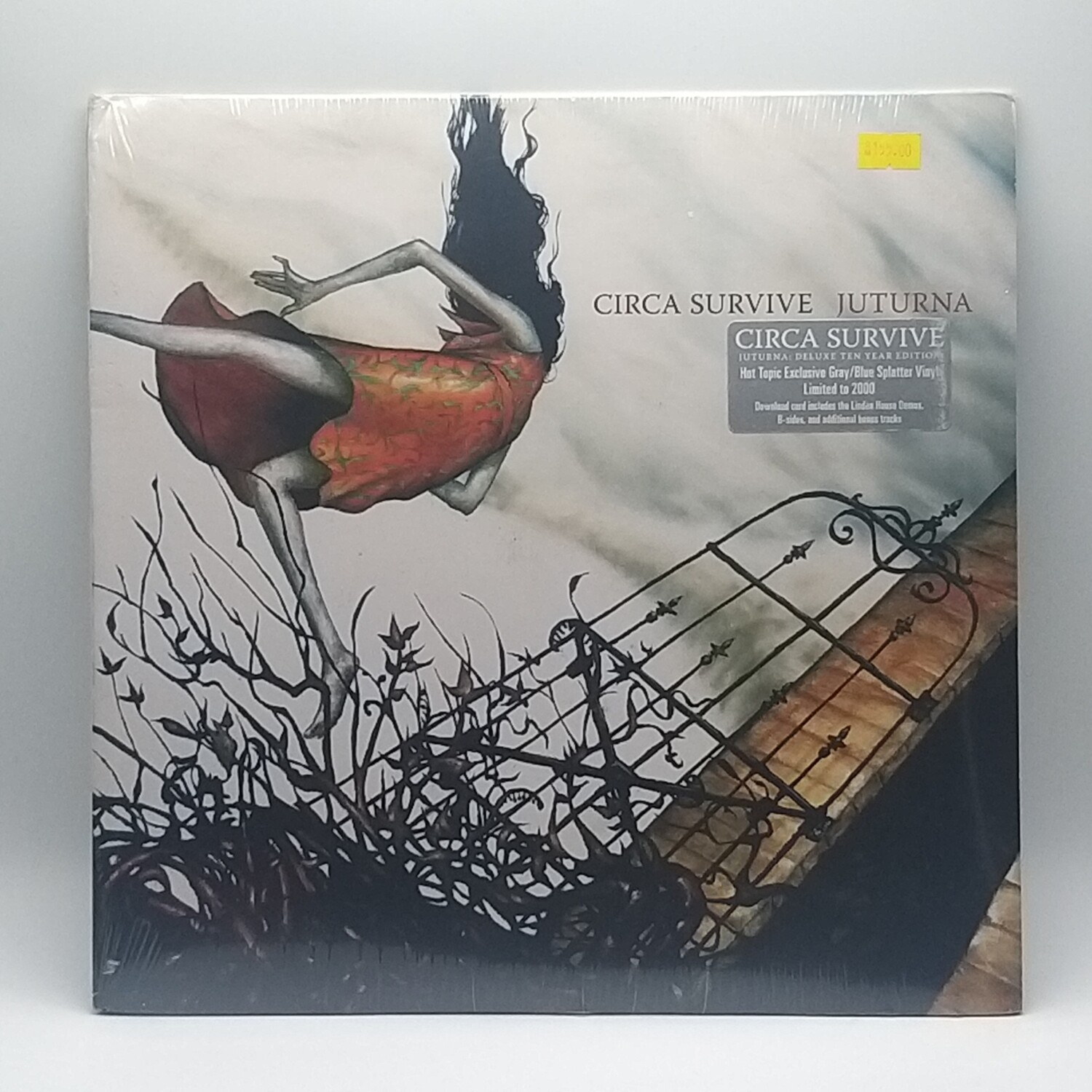 CIRCA SURVIVE -JUTURNA- LP (COLOR VINYL)