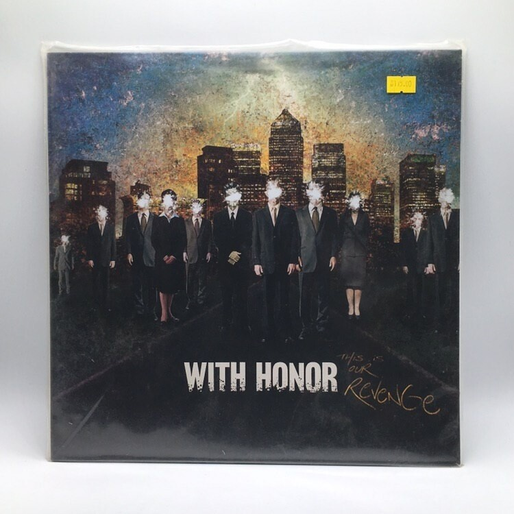 WITH HONOR -THIS IS OUR REVENGE- LP (COLOR VINYL)