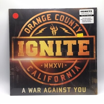IGNITE -A WAR AGAINST YOU- LP (RED VINYL)