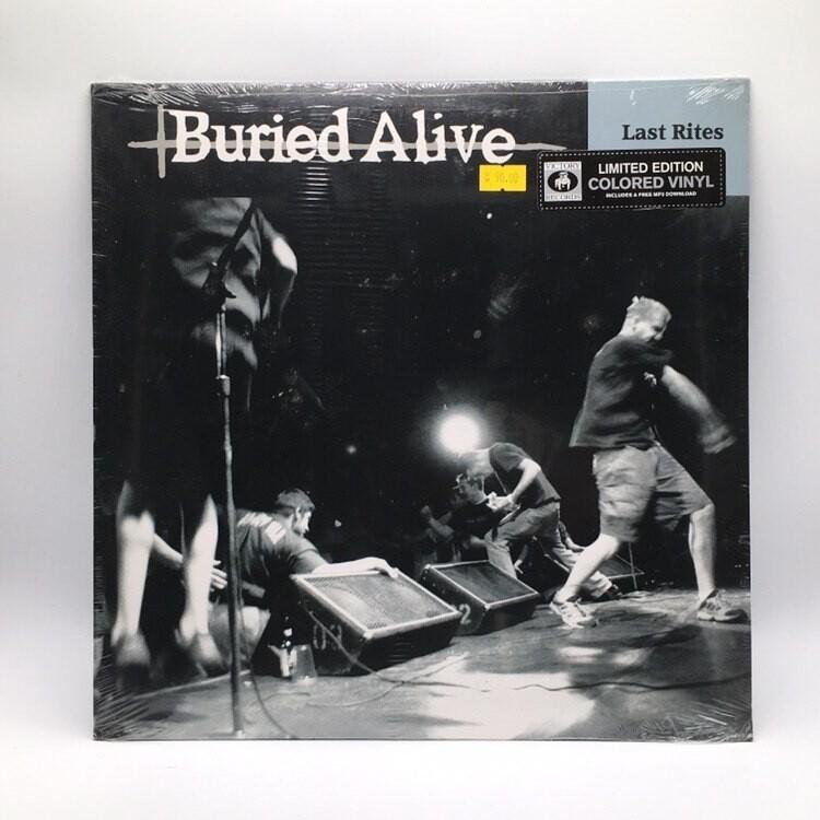 BURIED ALIVE -LAST RITE- LP (COLOR VINYL)