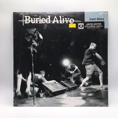 BURIED ALIVE -LAST RITE- LP (COLOR VINYL)