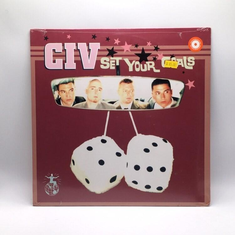 CIV -SET YOUR GOALS- LP (COLOR VINYL)