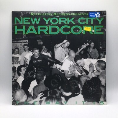 V/A -NEW YORK HARDCORE: THE WAY IT IS- LP (COLOR VINYL)