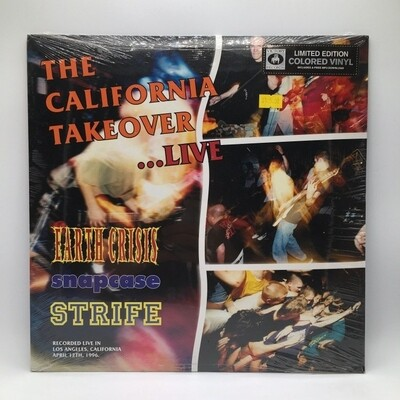 V/A -CALIFORNIA TAKE OVER...LIVE- LP (COLOR VINYL)
