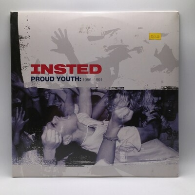 INSTED -PROUD YOUTH- 2XLP (COLOR VINYL)