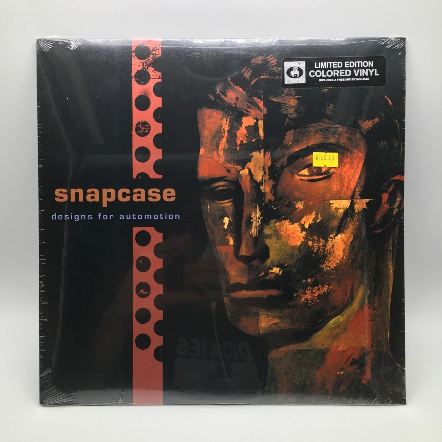 SNAPCASE -DESIGNS FOR AUTOMATION- LP (COLOR VINYL)