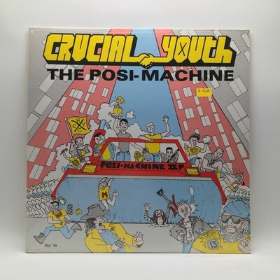 CRUCIAL YOUTH -THE POSI-MACHINE- LP (COLOR VINYL)