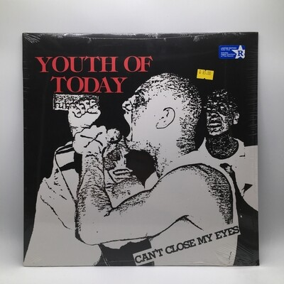 YOUTH OF TODAY -CAN'T CLOSE MY EYES- LP (COLOR VINYL)