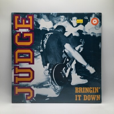 JUDGE -BRINGIN' IT DOWN- LP (BLUE VINYL)