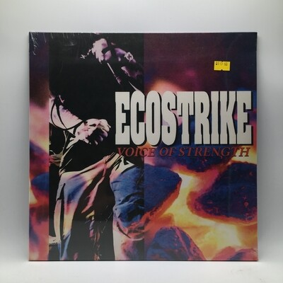 ECOSTRIKE -VOICE OF STRENGTH- LP (COLOR VINYL)