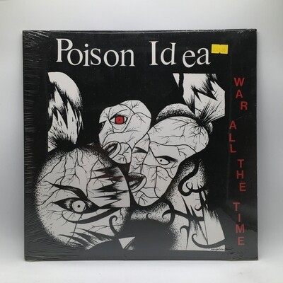 POISON IDEA -WAR ALL THE TIMES-  LP (YELLOW VINYL)