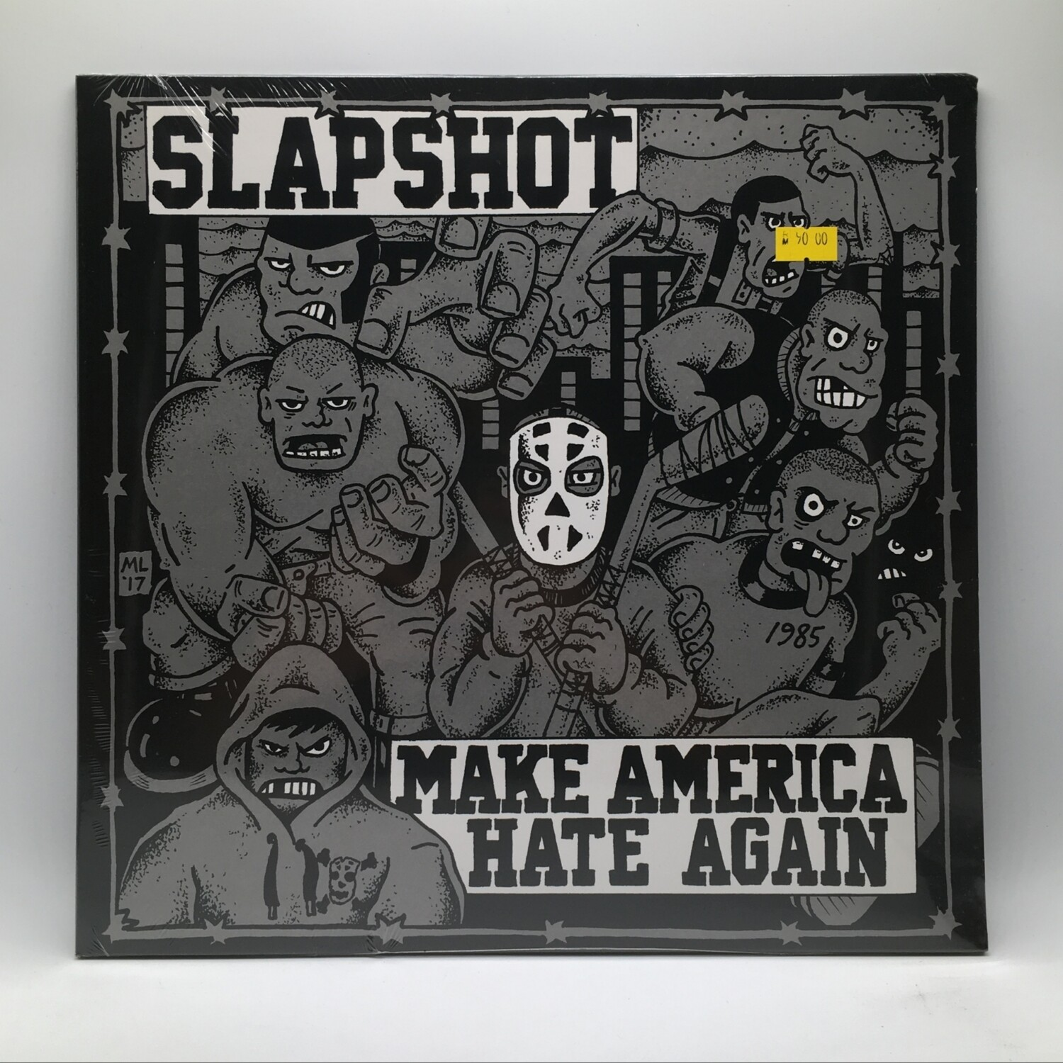 SLAPSHOT -MAKE AMERICA HATE AGAIN- LP (WHITE VINYL)