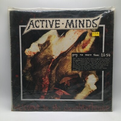 [USED] ACTIVE MIND - WELCOME TO THE SLAUGHTER HOUSE- LP
