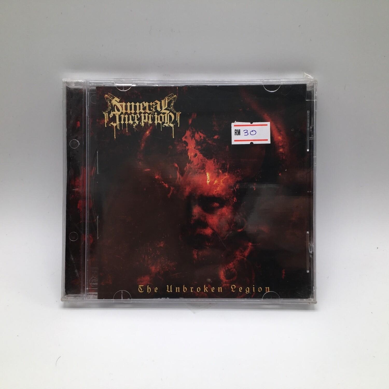 FUNERAL INCEPTION -THE UNBROKEN LEGION- CD