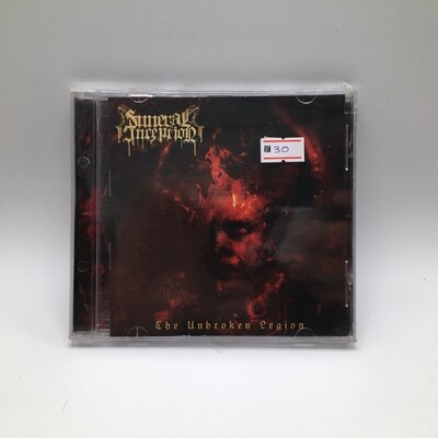 FUNERAL INCEPTION -THE UNBROKEN LEGION- CD
