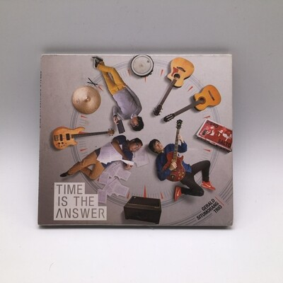 GERALD SITUMORANG TRIO -TIME IS THE ANSWER- CD