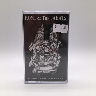 ROMI & THE JAHATS -PLAYLIST FOR MALAYSIAN TOUR 2018- CASSETTE
