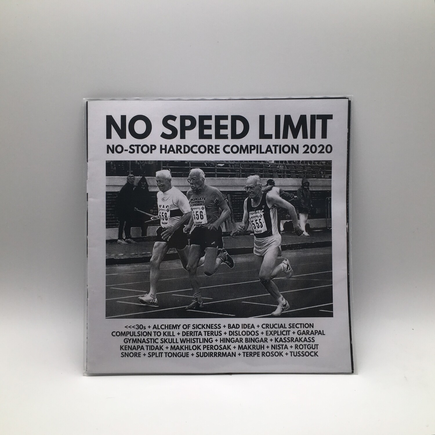 V/A -NO SPEED LIMIT: NO STOP HARDCORE COMPILATION 2020- CD