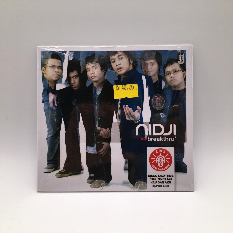 NIDJI -BREAKTHRU- CD