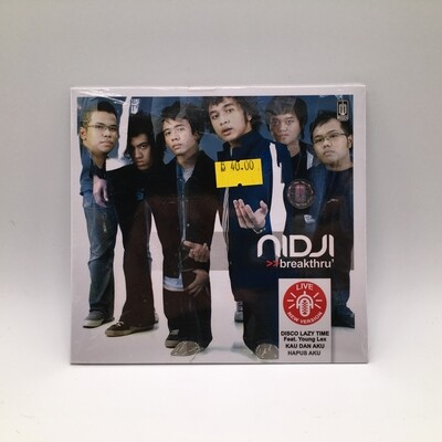 NIDJI -BREAKTHRU- CD