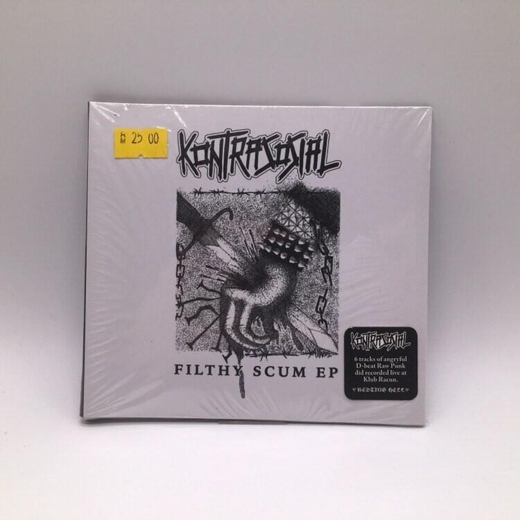 KONTRASOSIAL -FILTHY SCUM- CD