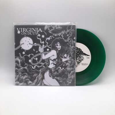 VIRGINIA ON DUTY / SJANSE -SPLIT- 7 INCH (COLOR VINYL)