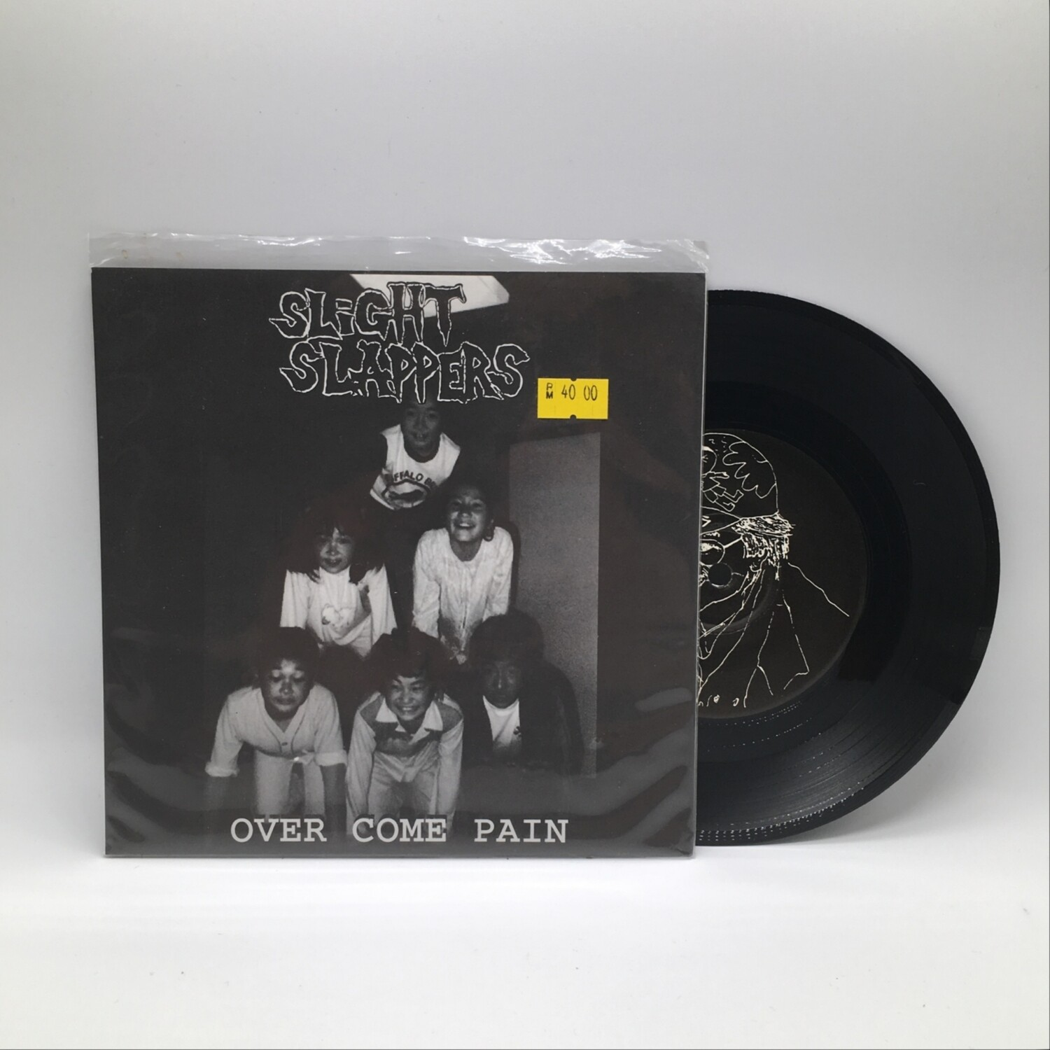 SLIGHT SLAPPERS -OVER COME PAIN- 7 INCH