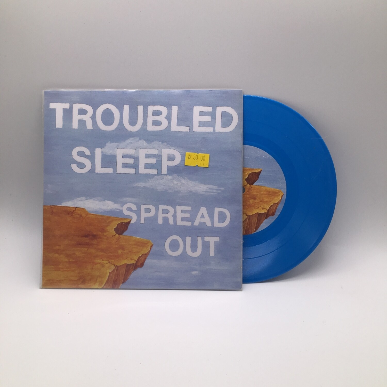 TROUBLED SLEEP -SPREAD OUT- 7 INCH (BLUE VINYL)