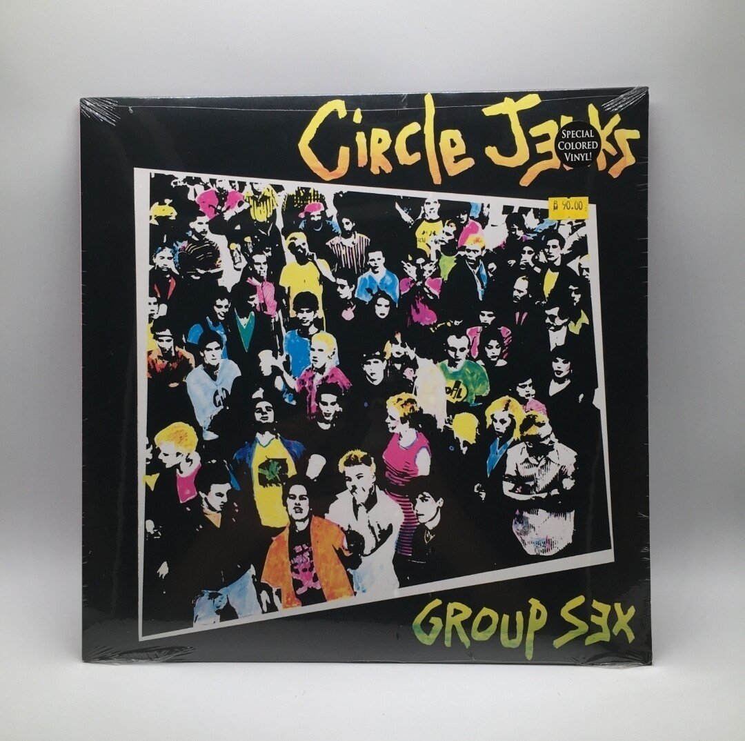 CIRCLE JERK -GROUP SEX- LP (COLOR VINYL)