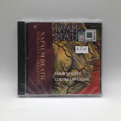 NAPALM DEATH -HARMONY CORRUPTION- CD