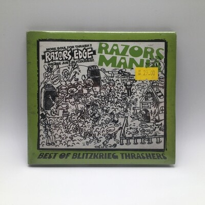 RAZOR EDGE -BEST OF BLITZKRIEG THRASHER- CD