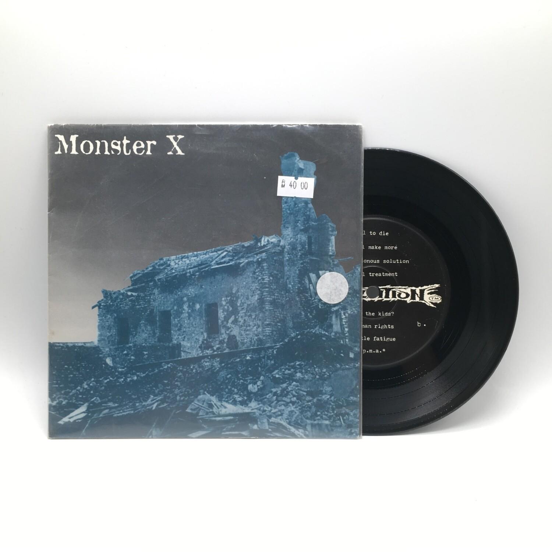 MONSTER X -ATTRITION- 7 INCH