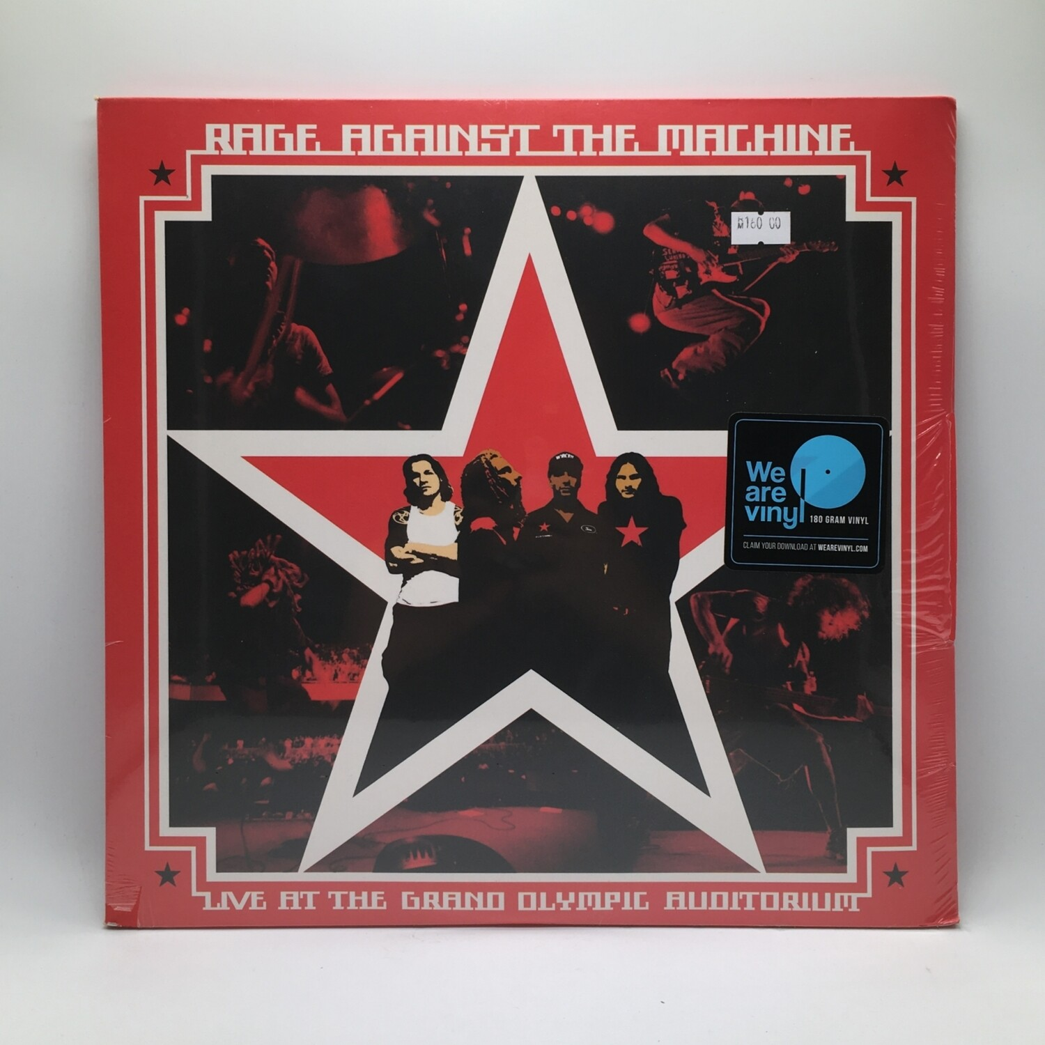RAGE AGAINST THE MACHINE -LIVE AT THE GRAND OLYMPIC AUDITORIUM- 2XLP