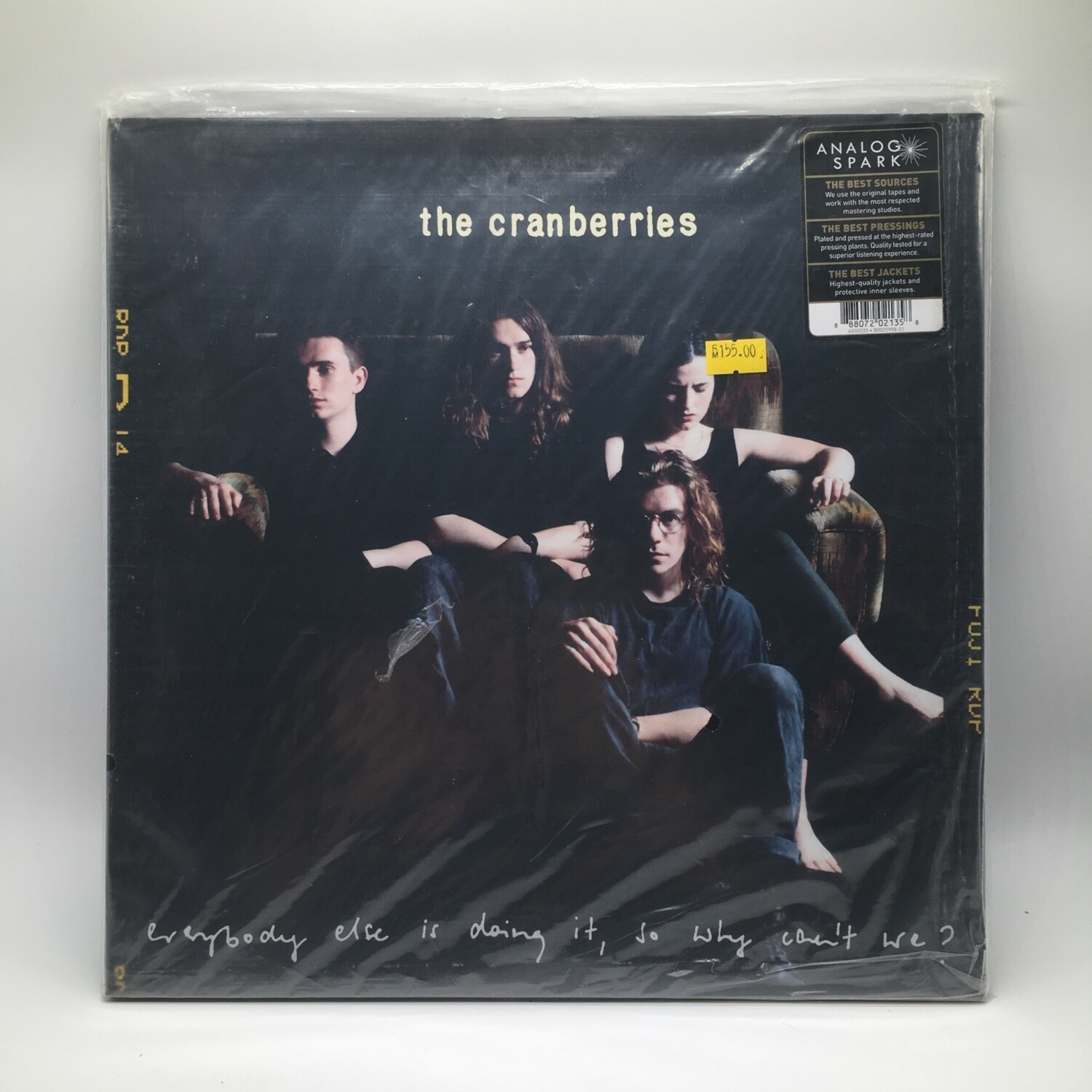 "THE CRANBERRIES ""EVERYBODY ELSE IS DOING IT, SO WHY CAN'T WE?- 2XLP"