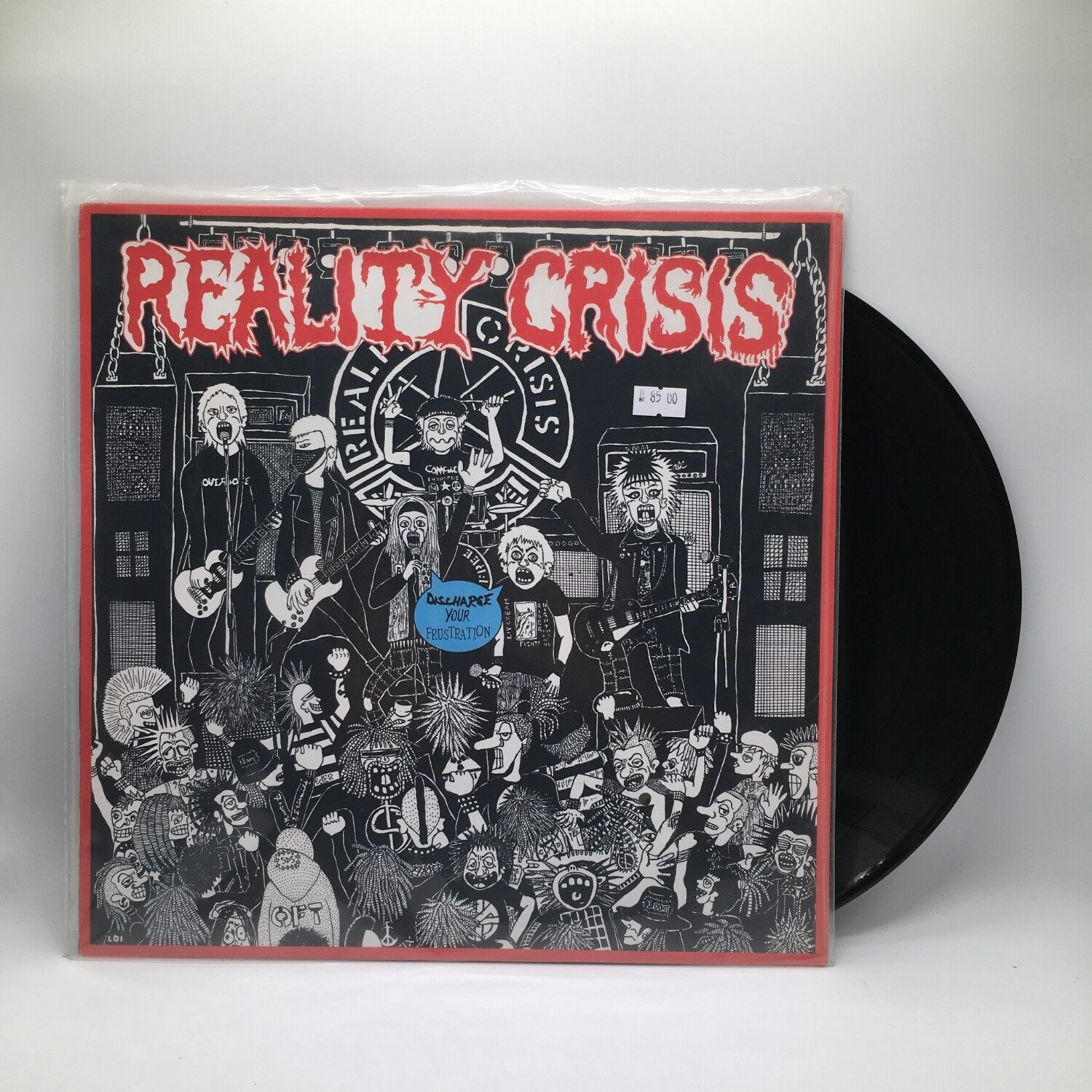 REALITY CRISIS -DISCHARGE YOUR FRUSTRATION- LP