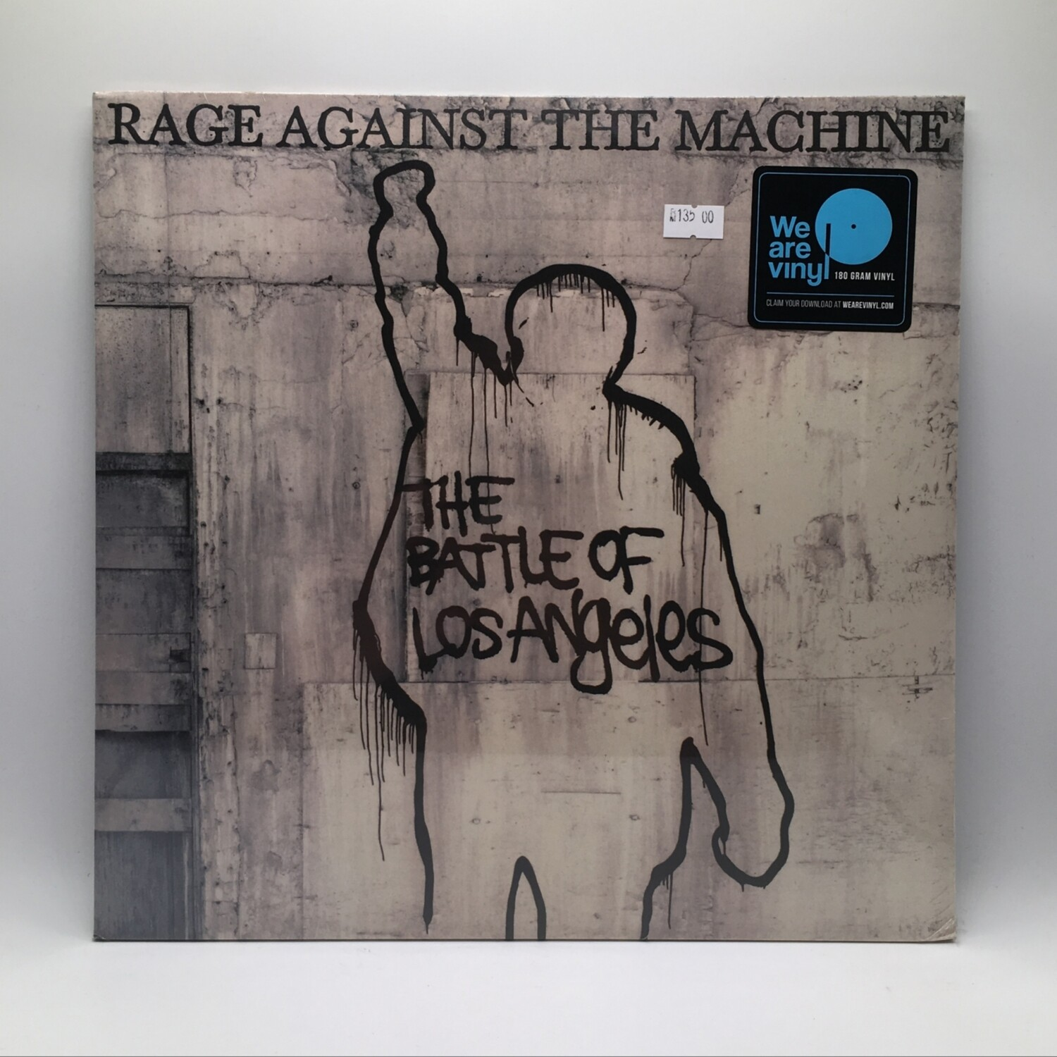 RAGE AGAINST THE MACHINE -THE BATTLE OF LOS ANGELES- LP