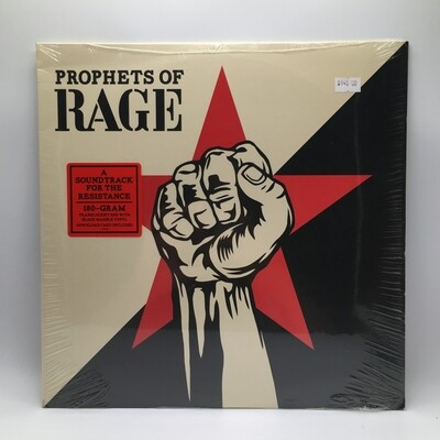 PROPHET OF RAGE - A SOUNTRACK FOR THE RESISTANCE- LP (COLOR VINYL)
