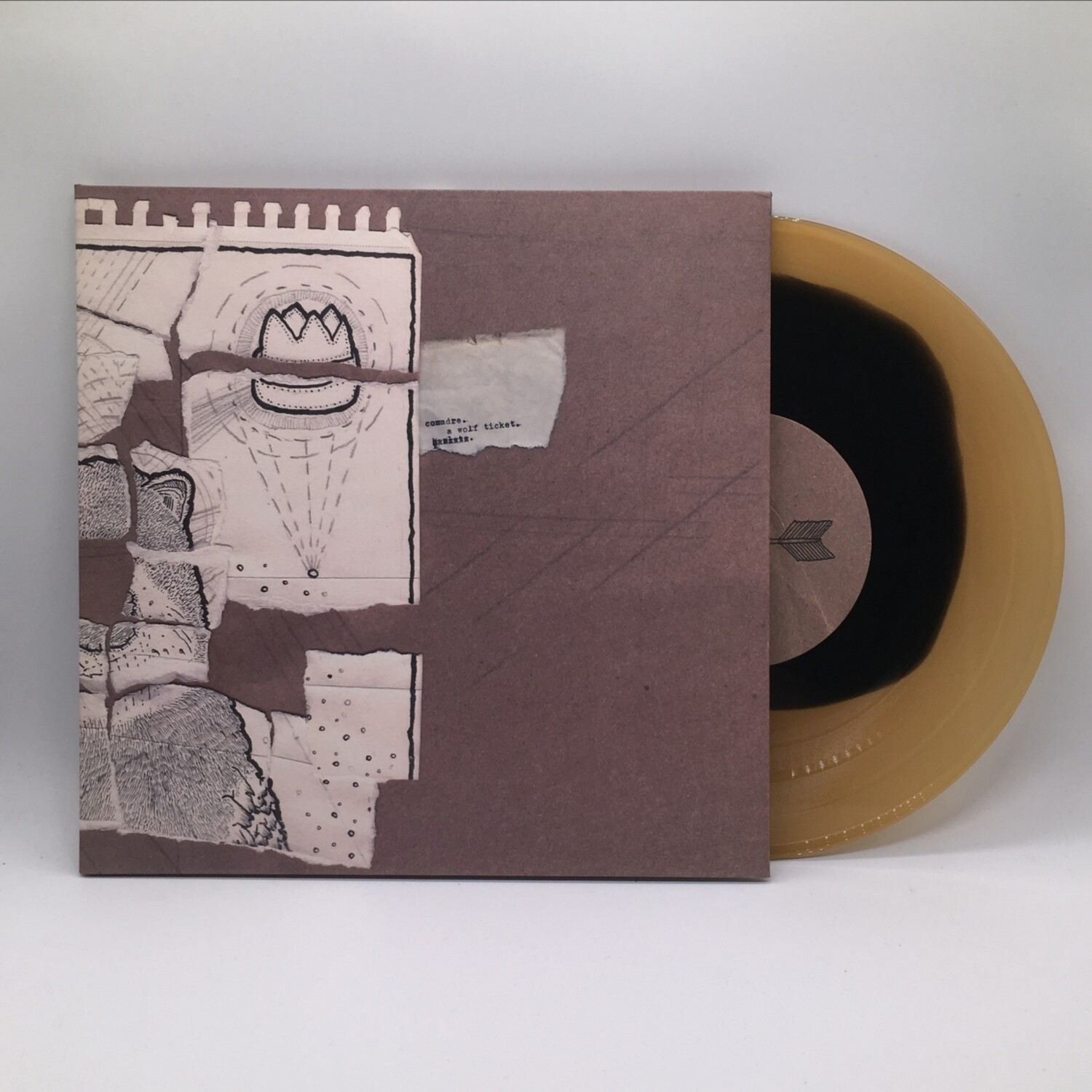 COMADRE -A WOLF TICKET- 10 INCH EP (COLOR VINYL)