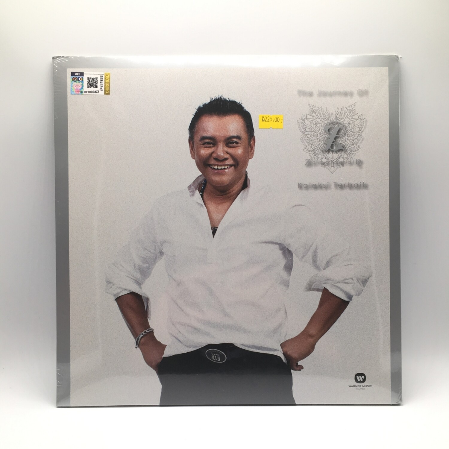 ZAINAL ABIDIN -THE JOURNEY OF:KOLEKSI TERBAIK- 2XLP