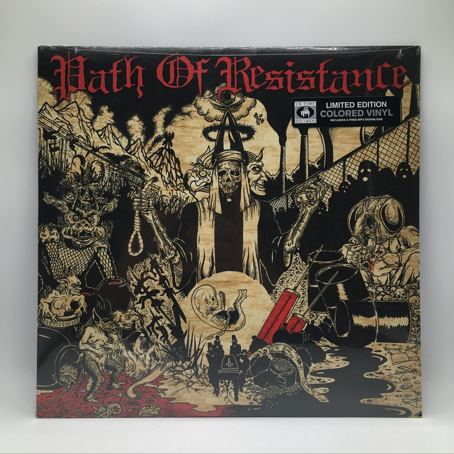 PATH OF RESISTANCE -CAN'T STOP THE TRUTH- LP (COLOR VINYL)