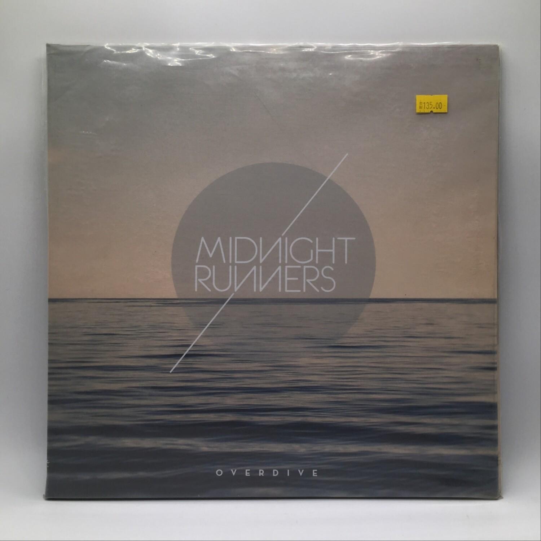 MIDNIGHT RUNNER -OVERDRIVE- LP (BLUE / WHITE SPLATTER VINYL)